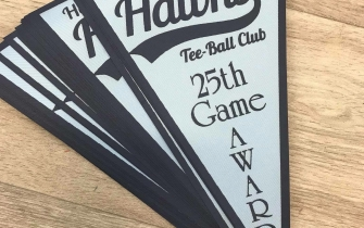 Single Colour Pennants - T-ball Club