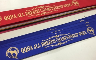 Place Ribbons - QQHA All Breeds Championship Week