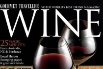 Wine Magazine - Our rosette on the front cover