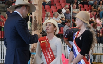 Qld Ag Shows Shoulder Sashes, credit Richard Smith