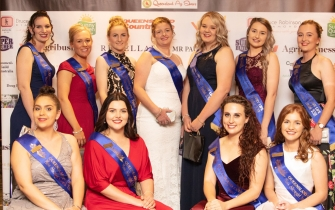 Qld Ag Shows Miss Show Gir Sponsor Dinner, photo credit Richard Smith