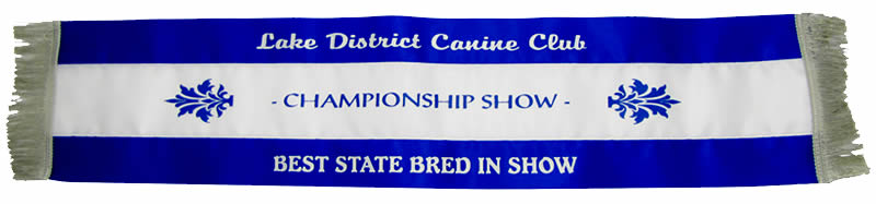 Show Ribbon - Special Dog Sash