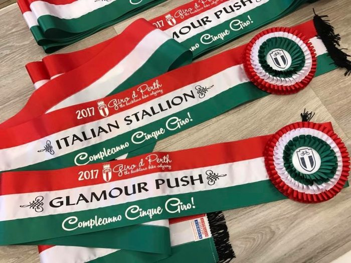 Tri colour shoulder sashes